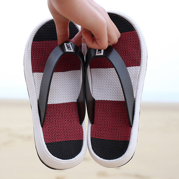 Flip Flops Platform Clip Toe Home Beach Slippers