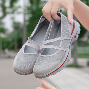 Women's Outdoor Sports Shoes Mesh Breathable Walking Sneakers