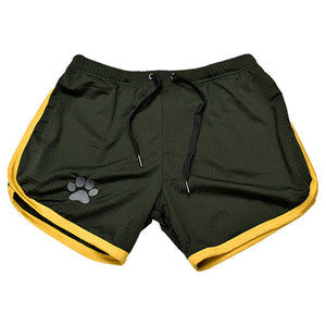 Men's Grid Quick Dry Breathable Fitness Bodybuilding Shorts