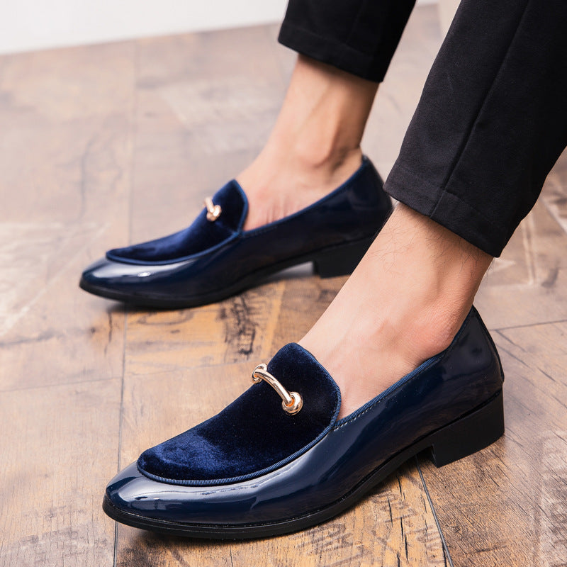 Plus Size Men Formal Wedding Party Loafers Oxford Shoes