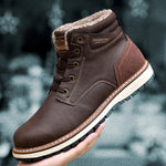 Men's Waterproof Non-slip Snow Boots
