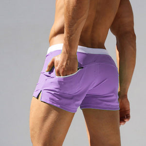 Men Sexy Swimming Trunks