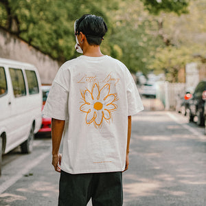 2020 Summer Daisy Fower Print T-shirt