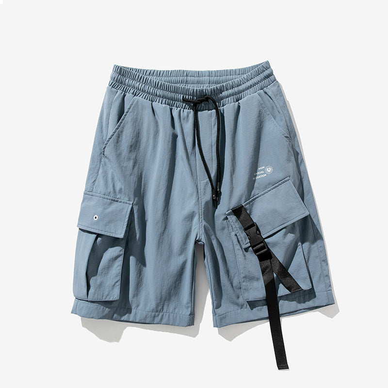 Multi-pocket Loose Tooling Hip-hop Shorts