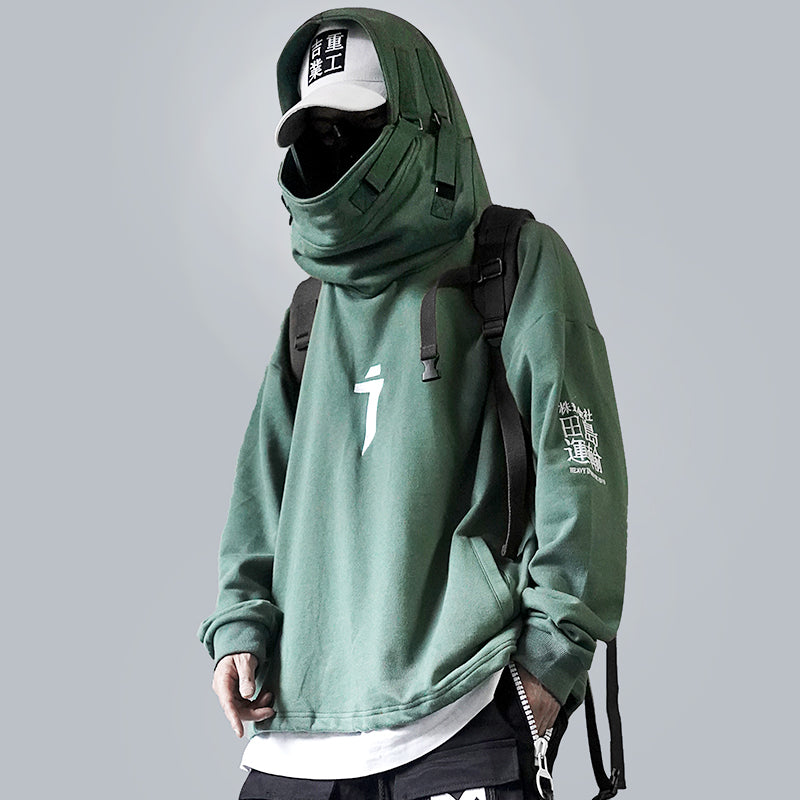 X11 Fish Mouth Hoodie
