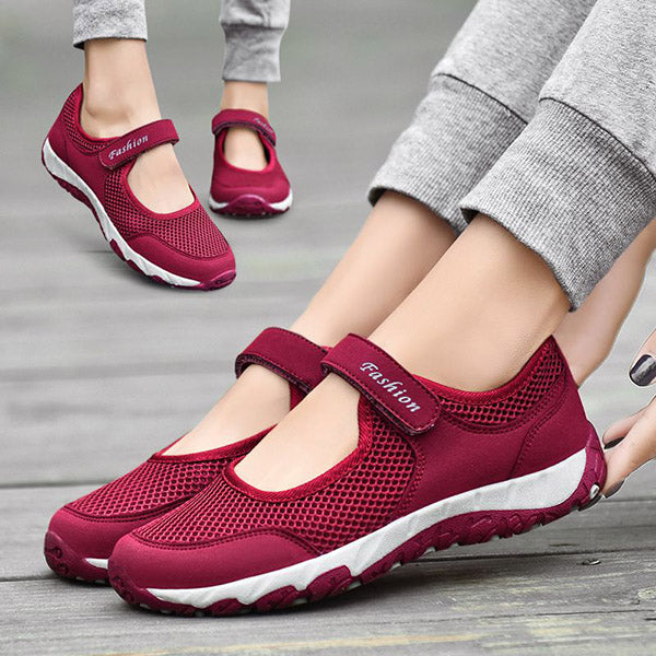 Women's Breathable Soft Sole Walking Sneakers