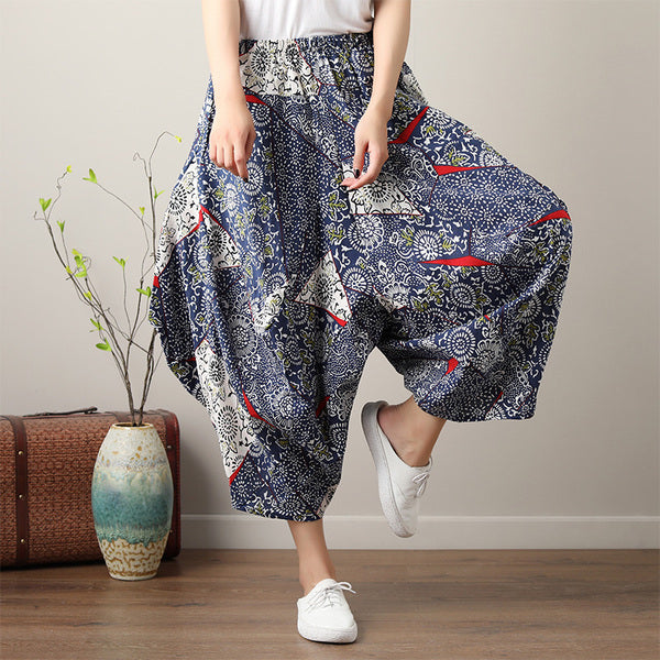 Loose Wide Leg Vintage  Pants