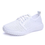 Women's Hollow Cosy Walking Sneakers
