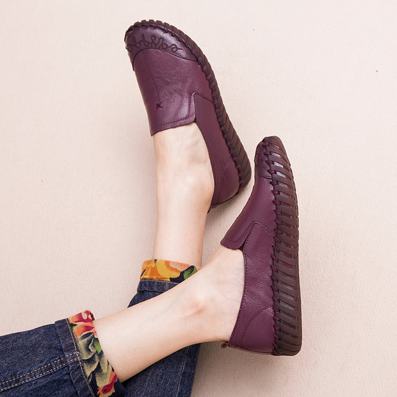 Women Casual Handmade Flat Shoes