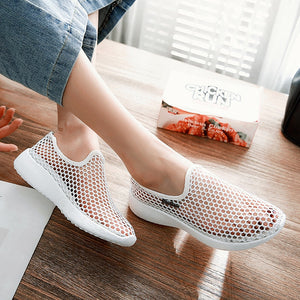 Woman Soft Slip On Mesh Breathable Shoes
