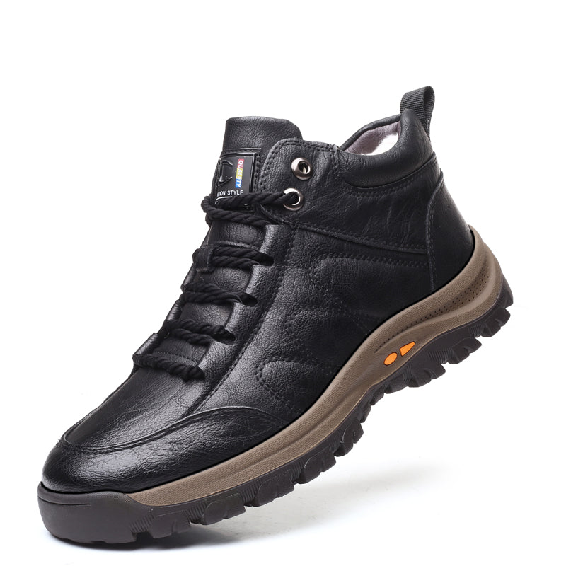 Men Warm Wool Outdoor Ankle Boots
