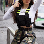 Hip-hop Tactical Vest Chest Bag