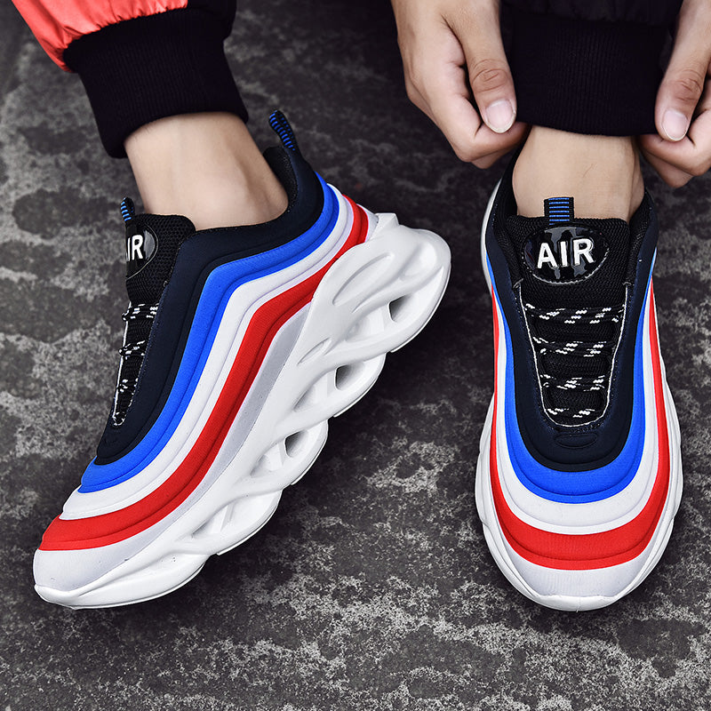 Wave Design Sneakers