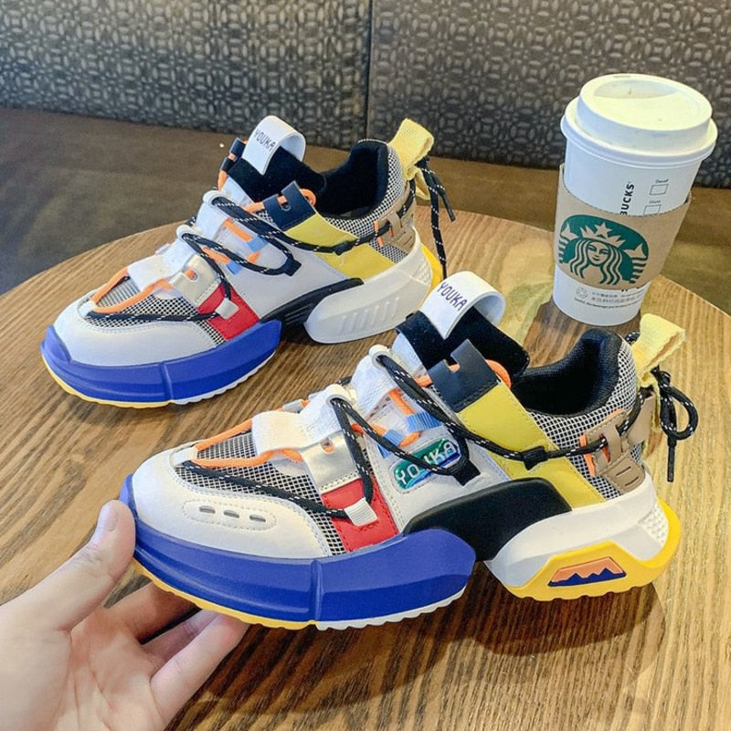 2019 New Chunky Fashion Sneakers