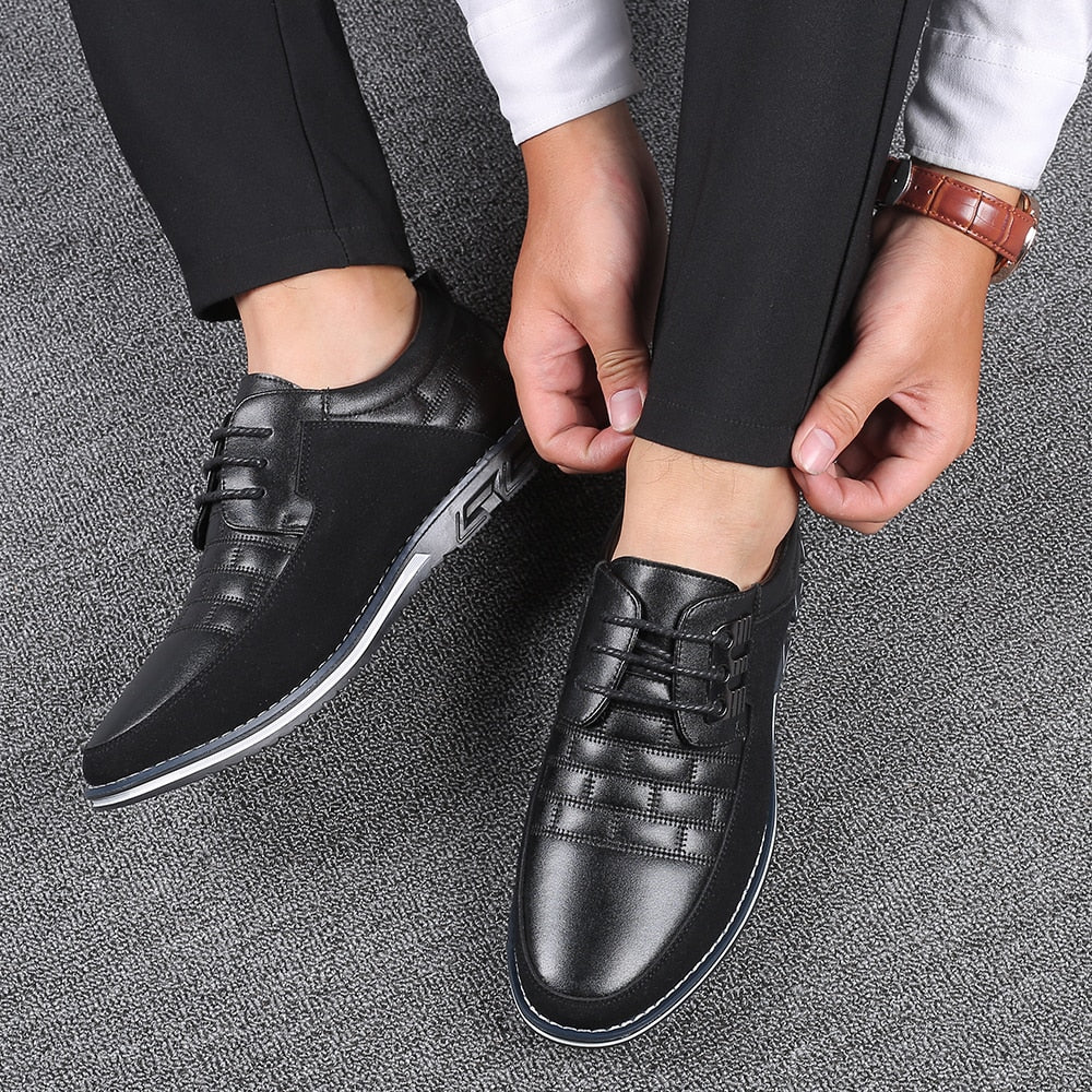 Oxfords Leather Men Shoes