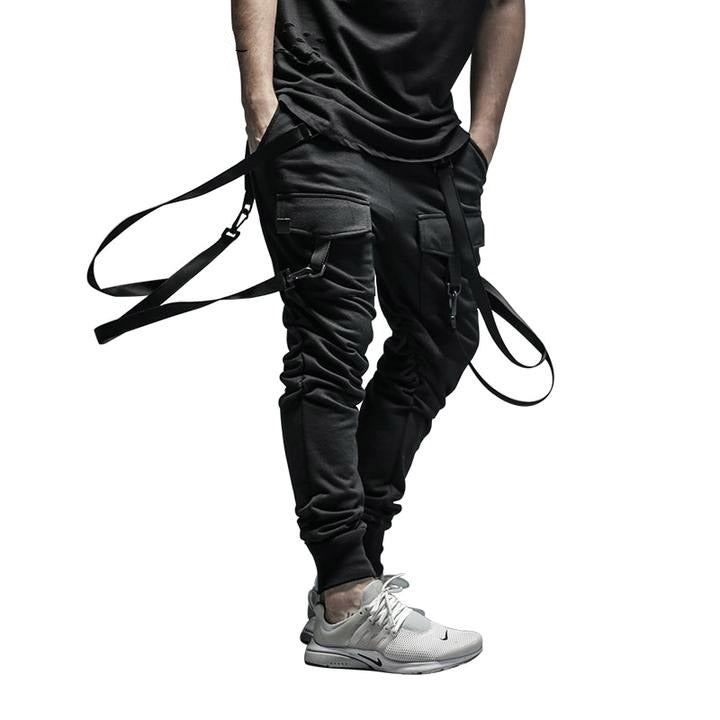 Men's Pants Pocket Full Length HIPHOP Joggers