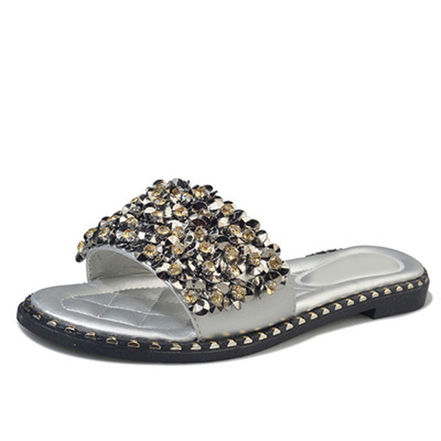 Women Casual Summer Flat Beach Slippers