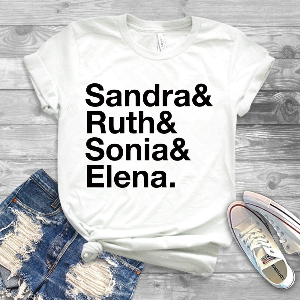 Sandra Ruth Sonia Elena Name List T-shirt