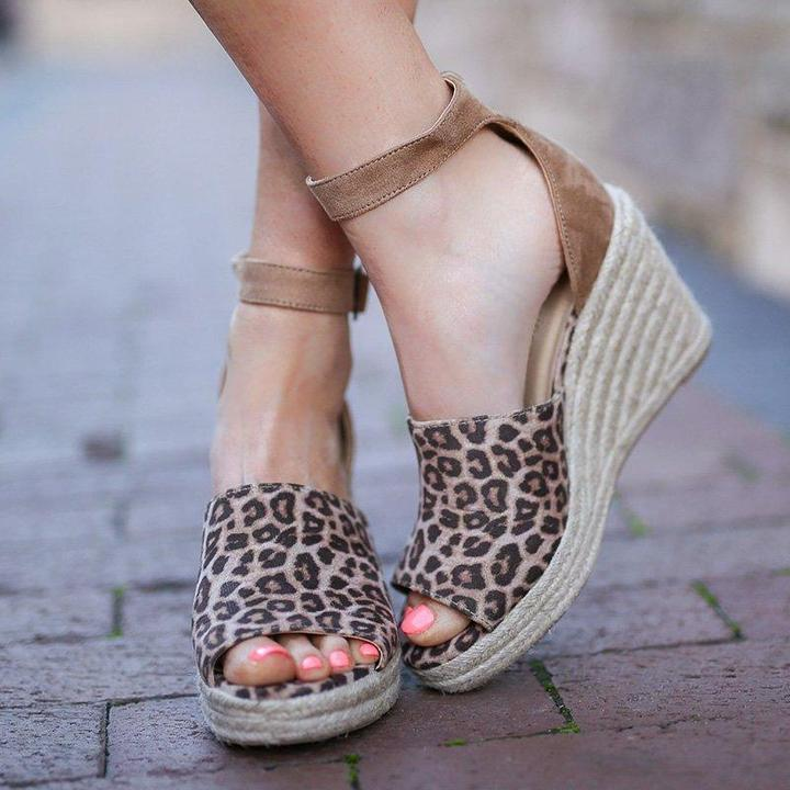 Espadrilles Daily Nubuck Creepers Wedges Sandals