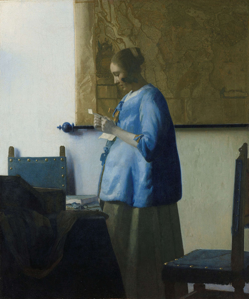 Johannes Vermeer - Woman Reading a Letter