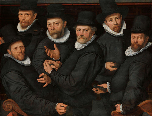 Pieter Pietersz - Six Wardens of the Drapers Guild