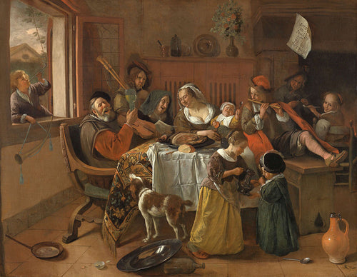 Jan Steen - The Merry Family