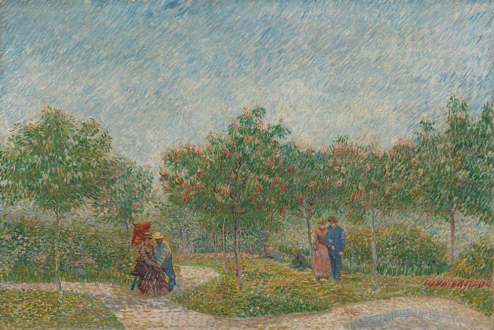 Vincent van Gogh - Garden with Courting Couples