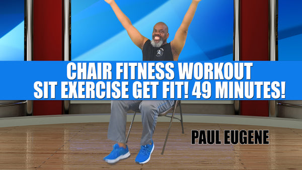 Chair Fitness Workout Seated Aerobics