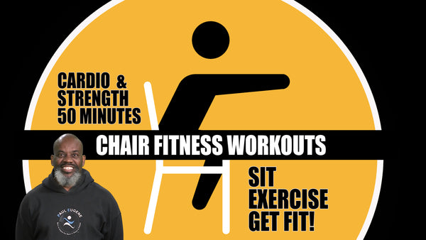 Chair Fitness Workouts Interval Cardio & Strength