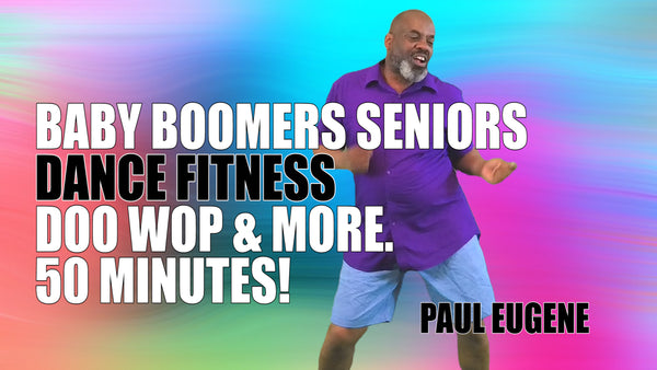 Senior Gold Baby Boomers Dance Fitness