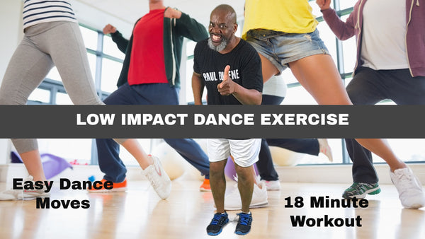 Low Impact Dance Exercise Workout