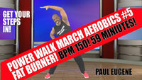 Power Walk March Aerobics At Home 59 Minutes