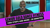 Senior Gold Dance Fitness Low Impact Workout 2