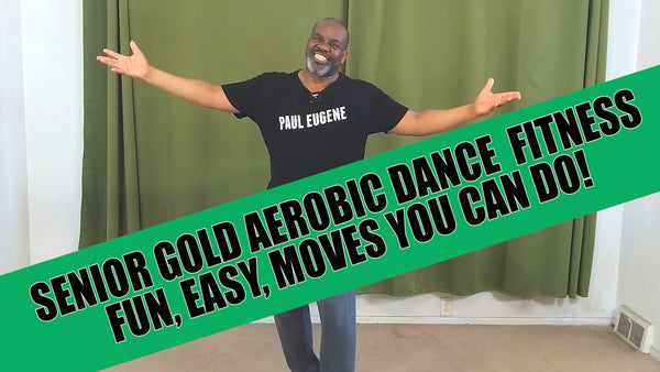Senior Gold Dance Fitness Fun and Easy