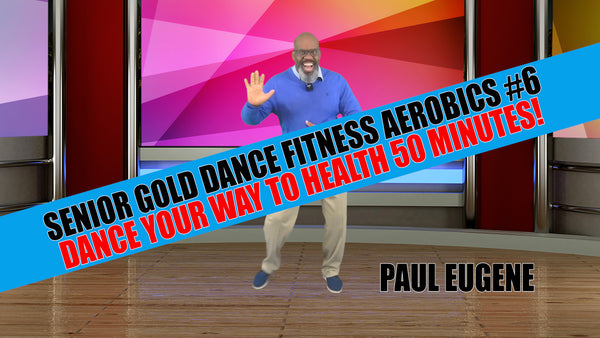 Senior Gold Dance Fitness Aerobics #6