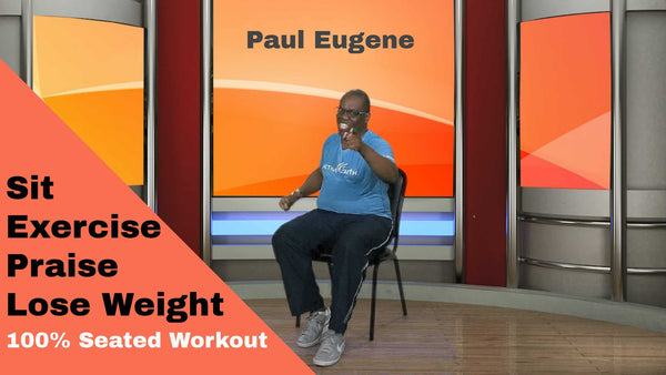 Sit Exercise Praise Lose Weight! Gospel Chair Aerobics
