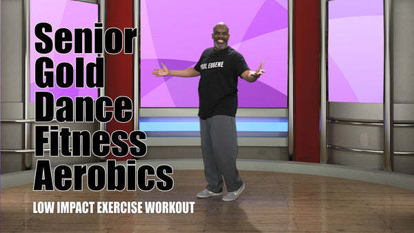 Senior Gold Dance Fitness Aerobics