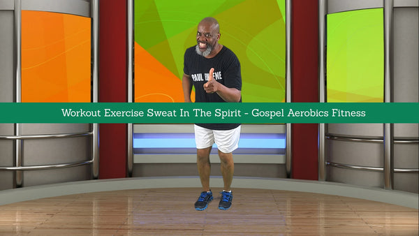 Gospel Aerobics - Exercise Sweat Praise Get FiT Body Soul Spirit (DVD)