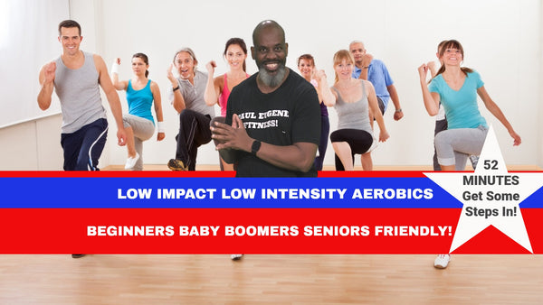 52 Minute Low Impact Low Intensity Aerobics
