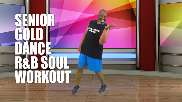 Senior Gold Dance Fitness Soul and R & B Workout