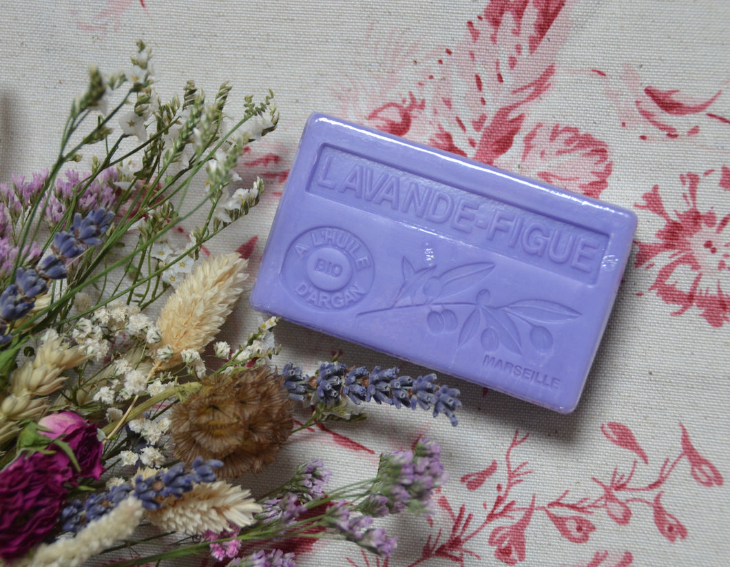 Lavande Figue French Soap