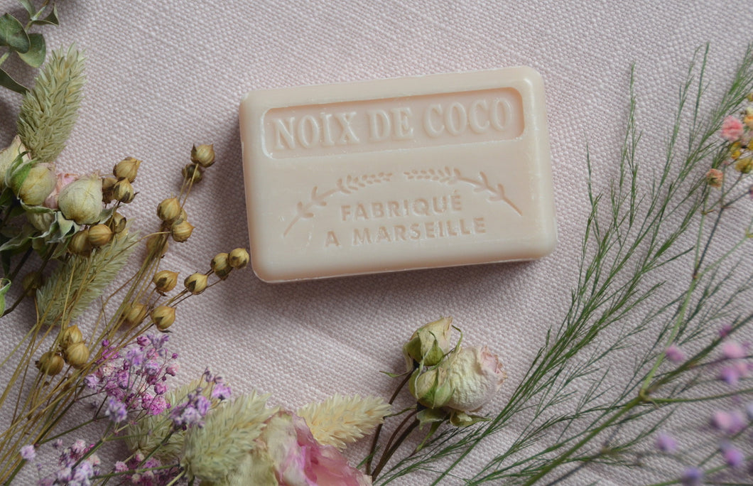 Coconut Marseille French Soap