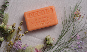 Peach Marseille French Soap