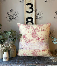 Toile de Jouy Handmade Cushion Cover