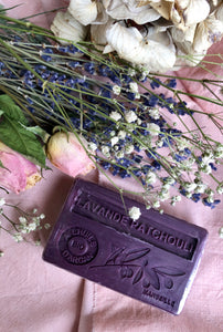 Lavande Patchouli French Soap