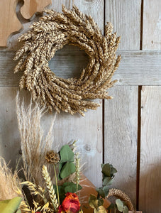 Simple Wheat Wreath