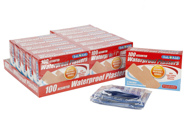 100PCE ASSTD VENTILATED PLASTERS