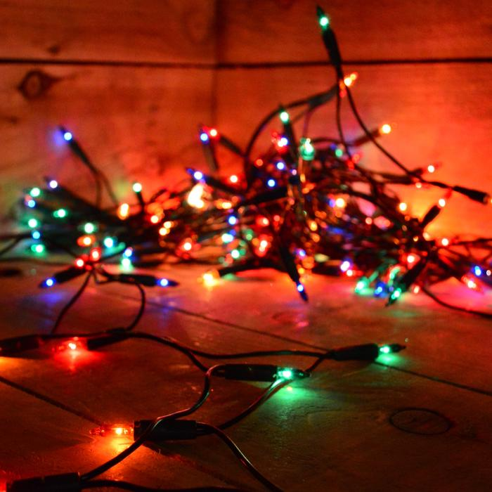50, 100, 200 Solar Powered Multi coloured Fairy Lights