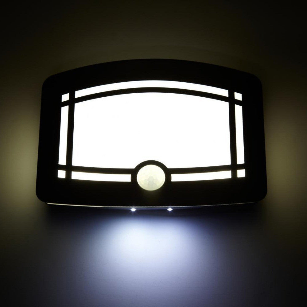 10 LED Motion Activated Wall Sconce Light