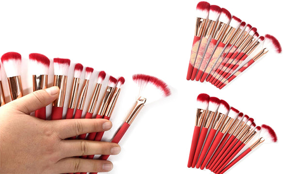 10PC Temperature Colour Changing Make-up Brush